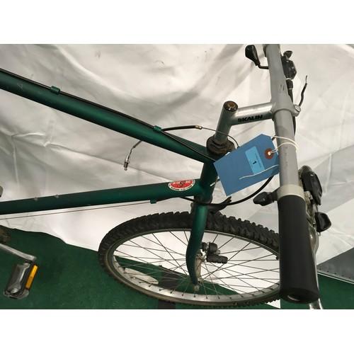 1 - Townsend green mountain bike 21 speed 21