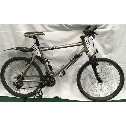 18 - Diamondback S-10 7000 series aluminium frame full suspension 21 speed mountain bike 20