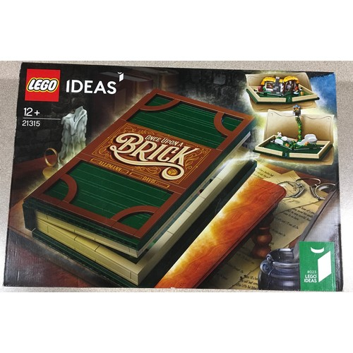 41 - Lego Ideas Pop Up Book set 21315 (retired). New and sealed.