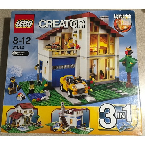 27 - Lego Creator 3 in 1 Family House set 31012 (retired). New and sealed.