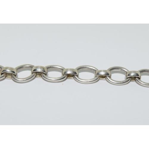 135 - A silver links of London bracelet.