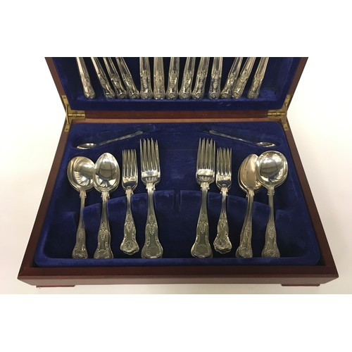 26 - boxed cutlery set in the Queens pattern inspect