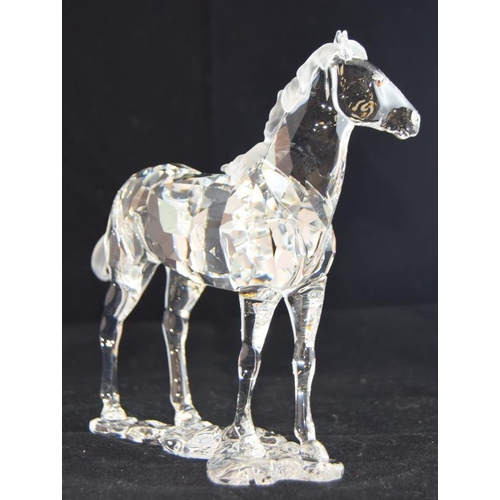 247 - Swarovski Crystal Horse Mare 860864 boxed with relevant paperwork.