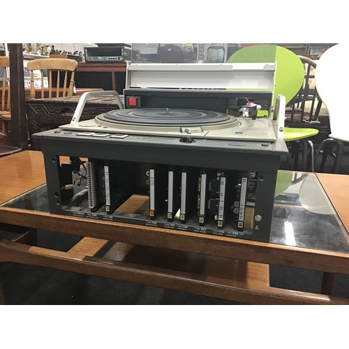1207 - EMT 948 PROFESSIONAL TURNTABLE. From an ITV studio and found here in working condition. Fitted with ...