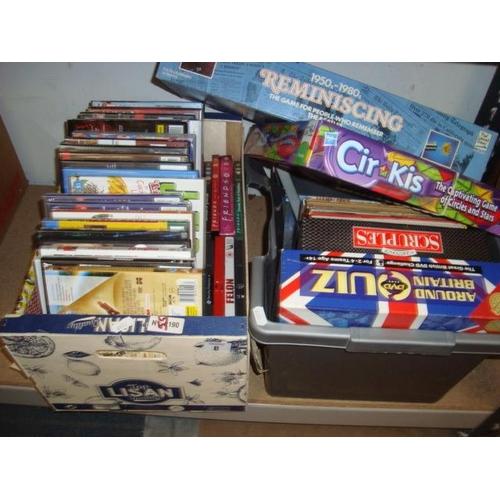 8 - 2 BOX GAMES ETC...