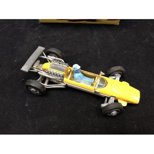 1004 - A VINTAGE 1960'S CORGI 159 COOPER MASERATI F1 RACING CAR MODEL (SEE CONDITION REPORT)...