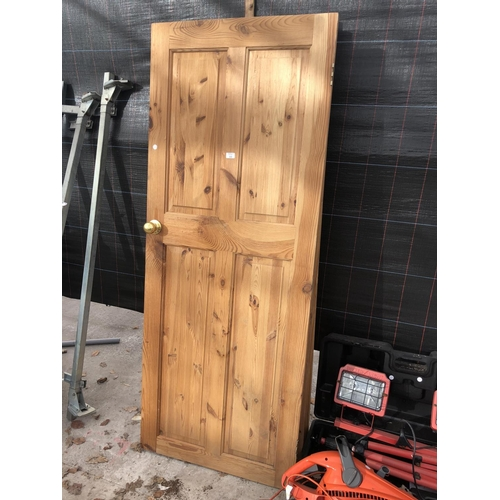 10 - THREE PINE DOORS...