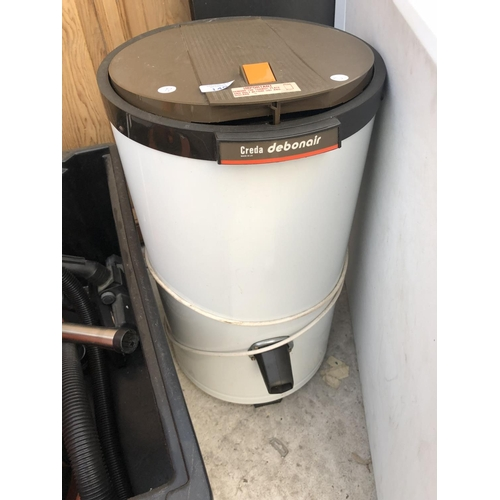 145 - A 'CREDA DEBONAIR' SPIN DRYER MACHINE W/O...