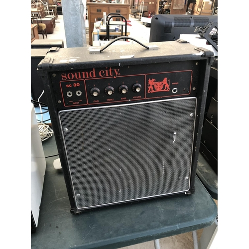 155 - A 'SOUND CITY SC30' GUITAR AMPLIFIER W/O...