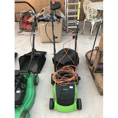106 - A CHALLENGE ELECTRIC ROTARY LAWNMOWER W/O...