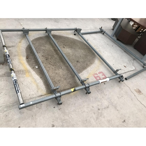 130 - A ROOF RACK TO FIT A VAUXHALL VIVARO...