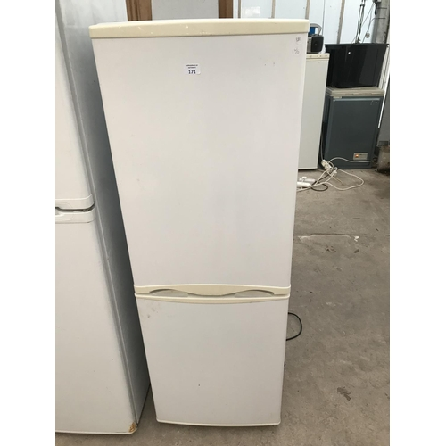 171 - A FRIDGE FREEZER W/O...