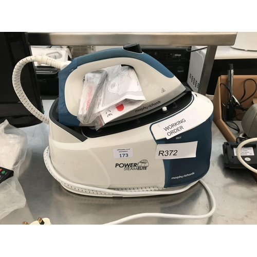 173 - A MORPHY RICHARDS  POWER STEAMELITE STEAM IRON W/O...