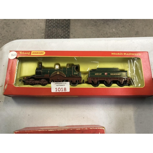 1018 - A BOXED 'TRIANG LORD OF THE ISLES' BOXED TRAIN LOCOMOTIVE AND TENDER...