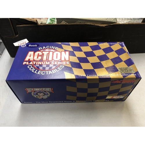 1047 - A BOXED 1-24 SCALE 1998 LIMITED EDITION ACTION PLATINUM SERIES MODEL CAR...
