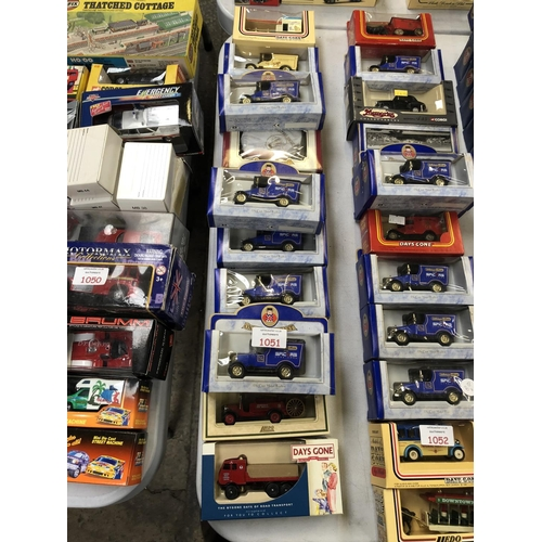 1051 - 13 VARIOUS BOXED 'OXFORD' DIE-CAST VEHICLES (13)...