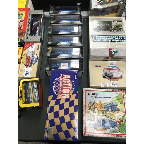 1080 - A 1 - 24 SCALE 1998 LIMITED EDITION ACTION PLATINUM SERIES BOXED CAR TOGETHER WITH SIX 'CARARAMA' KN...