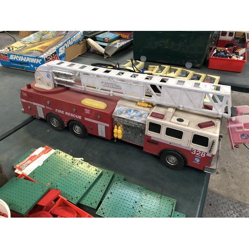 1140 - A VINTAGE 'TONKA' 328 FIRE RESCUE DEPARTMENT SCALE MODEL...