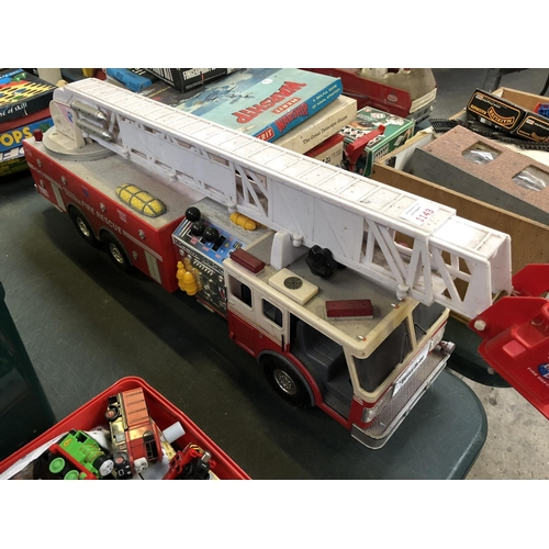 1143 - A 'TONKA' FIRE RESCUE LARGE SCALE MODEL...