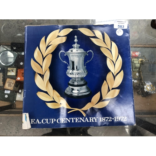 583 - AN 'FA CUP' CENTENARY MEDAL / COIN SET, 1872 TO 1972...