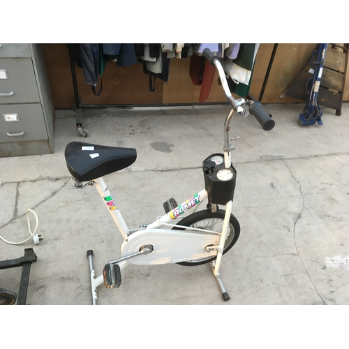 113 - A MODERN EXERCISE BIKE...