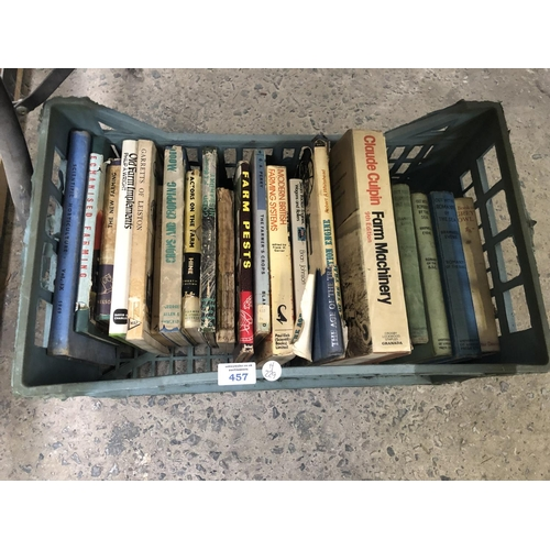 457 - A BOX OF VINTAGE BOOKS...