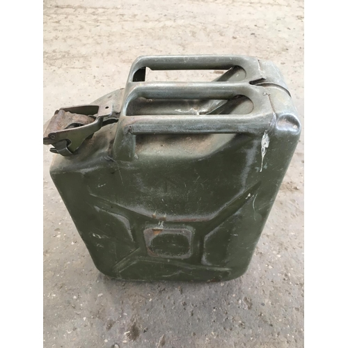 15 - A METAL JERRY CAN...