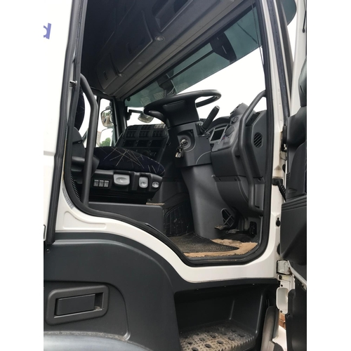 223 - AN IVECO STRALIS 450 4 WHEEL TRACTOR UNIT MX08 AVK 97000KM MOT SEPT 19 ONE OWNER FROM NEW...