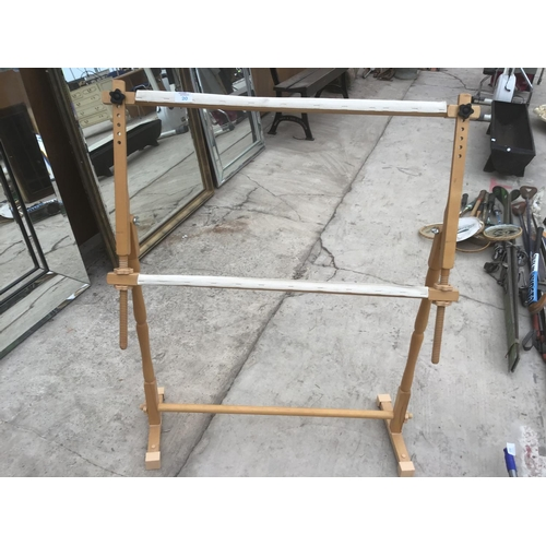 20 - AN' CROSS STITCH/EMBROIDERY EASEL...