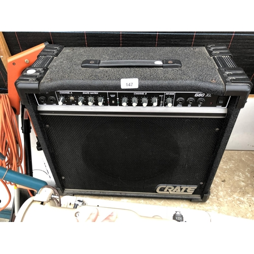 147 - A 'CRATE' G80 XL AMP IN WORKING ORDER...