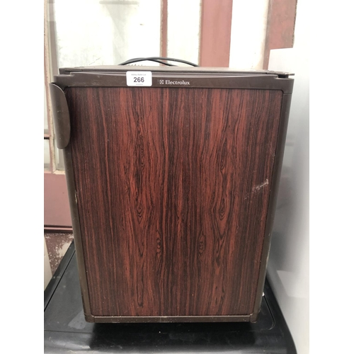 266 - A SMALL COUNTER TOP ELECTROLUX FRIDGE...