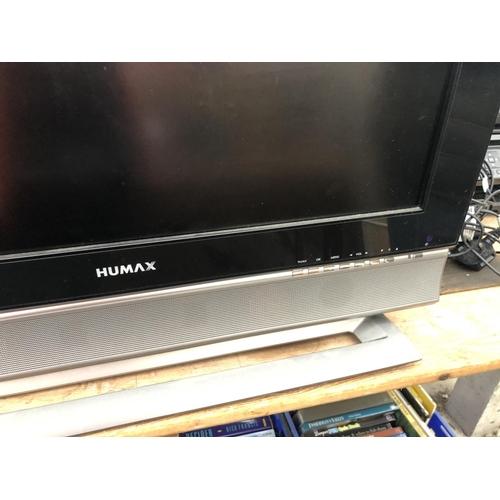 316 - A HUMAX TELEVISION...