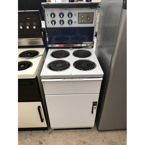 360 - A CREDA CAREFREE OVEN AND FOUR RING HOB...