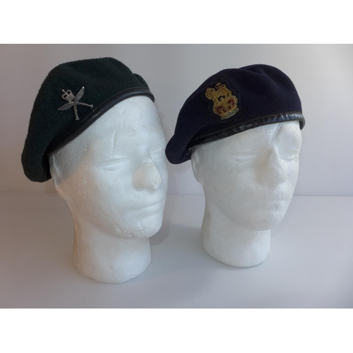 303 - A GURKHA BERET AND A GENERAL STAFF OFFICERS BERET...