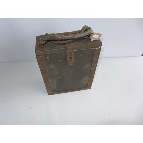 368 - A BOXED WORLD WAR II PERIOD GREDA ITALIAN MACHINE GUN LOADING STRIP TRAYS...