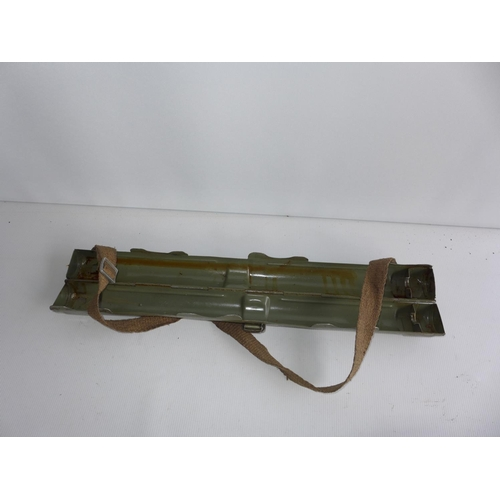 397 - A GERMAN SPARE BARREL CASE FOR AN MG34 AND 42...