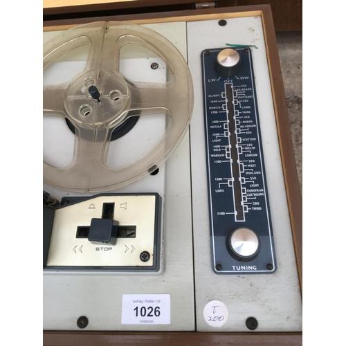 1026 - A CAROUSEL RADIOTAPE MKIV...