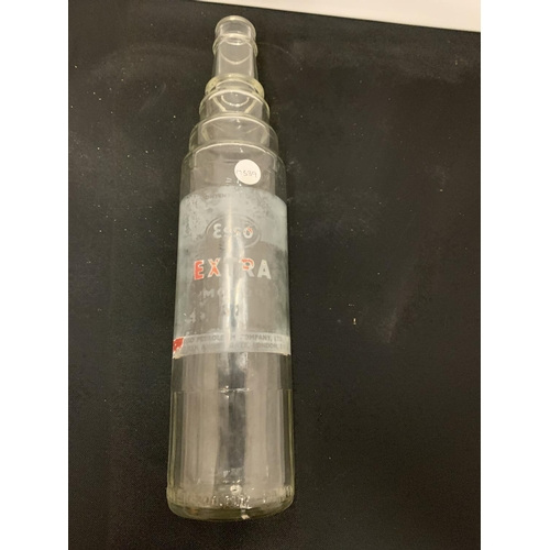 33A - AN ESSO OIL BOTTLE...