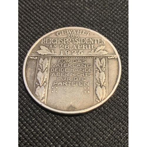 511 - A SILVER GERMAN COIN...