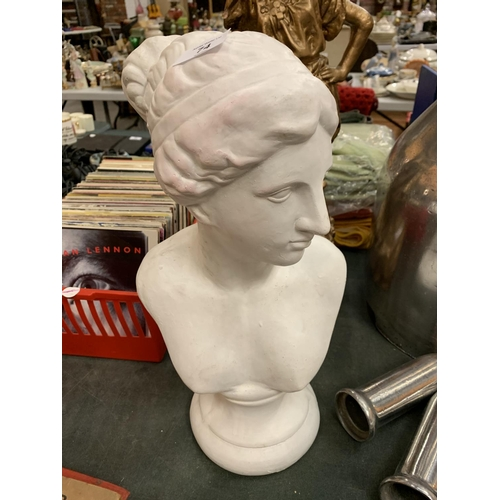 74 - A CLASSICAL BUST OF  A LADY...