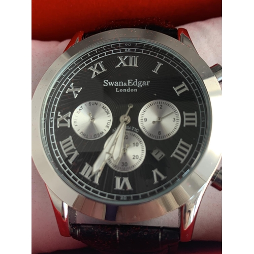 564 - A SWAN AND EDGAR AUTOMATIC WRISTWATCH...