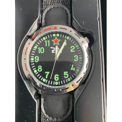 579 - FOUR NEW AND BOXED WRISTWATCHES...