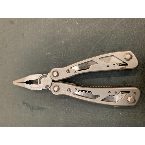 774 - A CASED STANLEY MULTI TOOL...