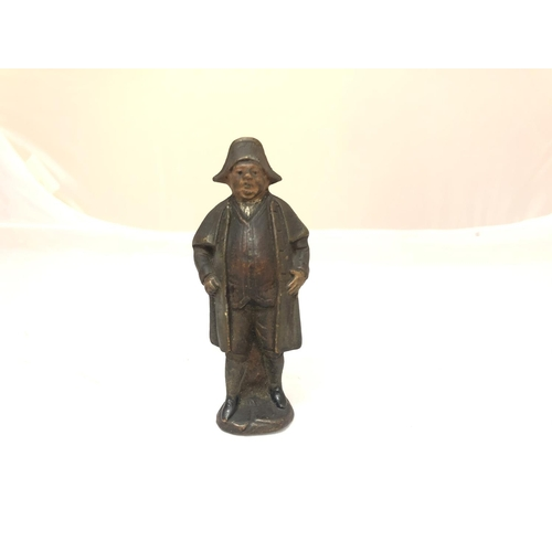467 - A COLD PAINTED FIGURINE OF MR BUMBLE...