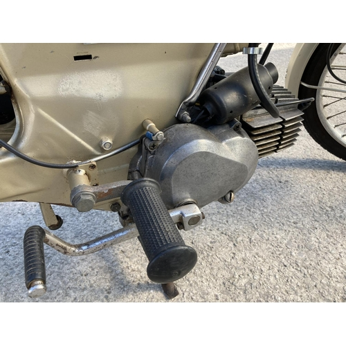 1050 - A PUCH 50CC MOPED REGISTERED 1980. ALL PAPERWORK AVAILABLE IN GOOD WORKING ORDER...
