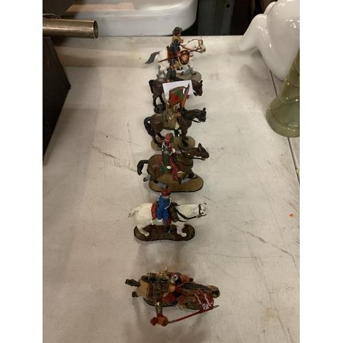 833 - SIX DEL PRADO LEAD SOLDIERS...