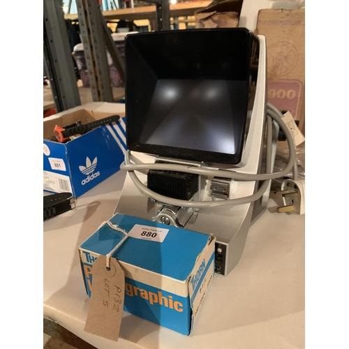 880 - A PRINZ OXFORD 900FILM EDITOR WITH ORIGINAL BOX ETC...