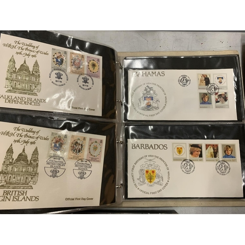 187 - A COLLECTION OF FIRST DAY COVERS ORIGINATING FROM THE SOLOMON ISLANDS, THE GAMBIA ETC AND FEATURING ...