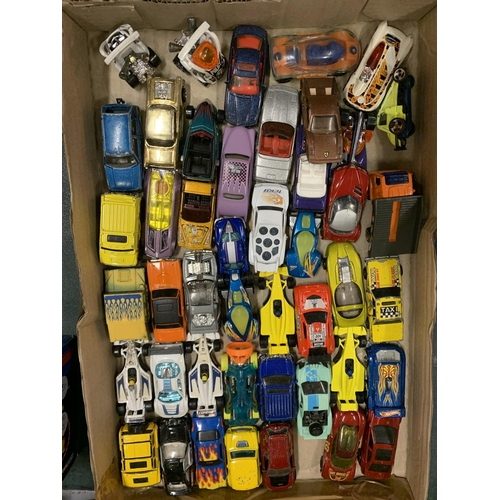 236 - AN EXTENSIVE COLLECTION OF DIE CAST MODEL TOYS TO CONSIST OF MAINLY CARS...