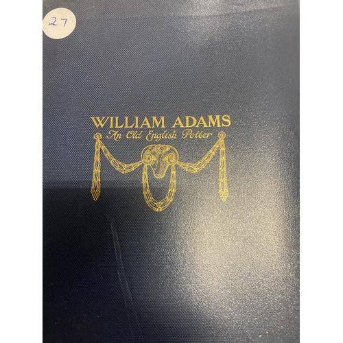 298 - AN AUTOBIOGRAPHY OF 'GIPSY SMITH HIS LIFE AND WORK', A FURTHER BIOGRAPHY OF 'WILLIAM ADAMS: THE OLD ...